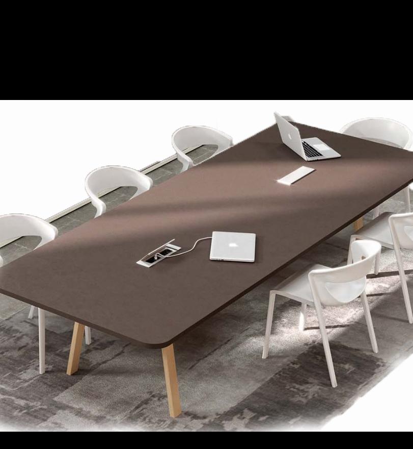 table de réunion design de la marque alea