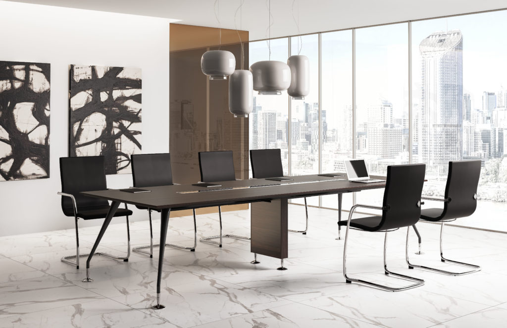 grande table de réunion
