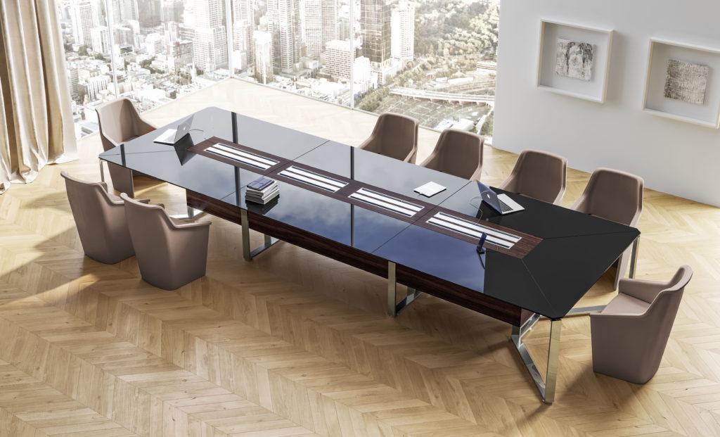 Grand bureau de réunion de la marque LAS