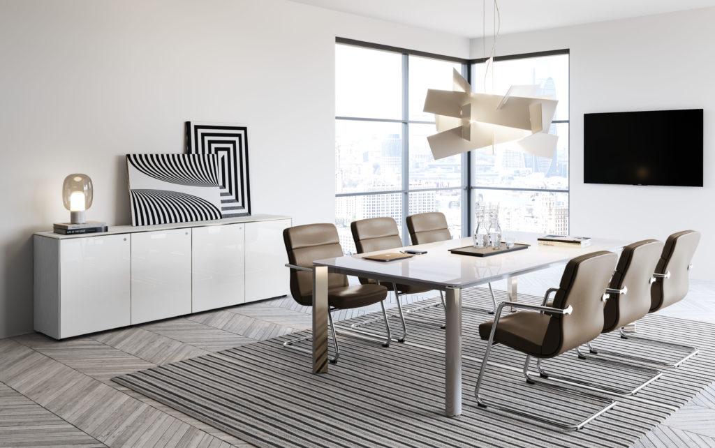 bureau de réunion IULIO HG de la marque LAS