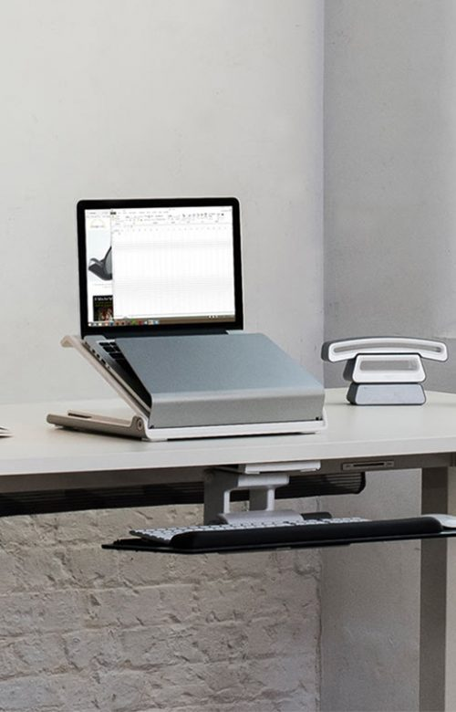 accessoire pour surélever un ordinateur portable