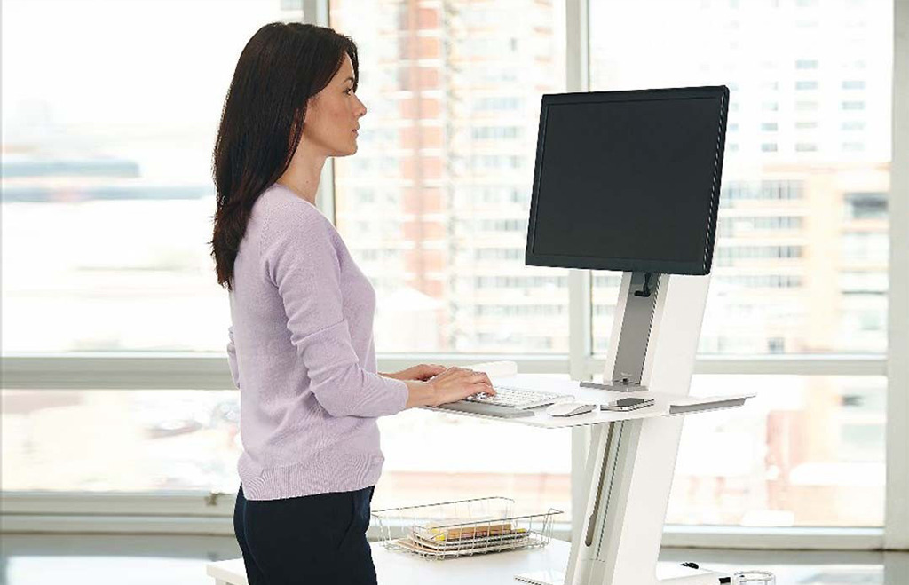 Bureau stand up